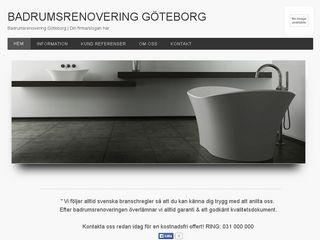 göteborgbadrumsrenoveringar.se