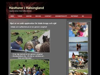 hästturerihälsingland.se