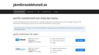 jämförwebbhotell.se