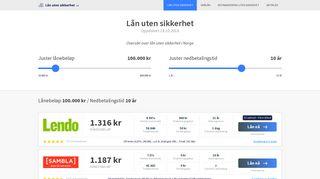 lån-uten-sikkerhet.net