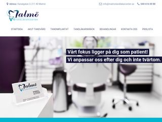 malmötandläkarcenter.se