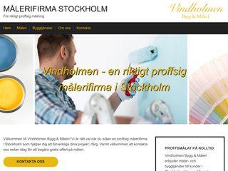 Earlier screenshot of målerifirmastockholm.biz