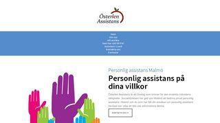 Earlier screenshot of personligassistansmalmö.net