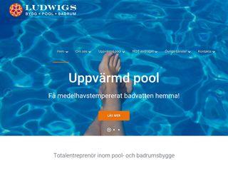 Earlier screenshot of poolgöteborg.se