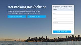 storstädningstockholm.se