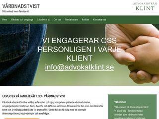 Earlier screenshot of vårdnadstvist.nu