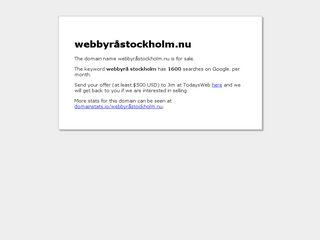 webbyråstockholm.nu