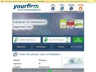 Preview of yourfirm.de