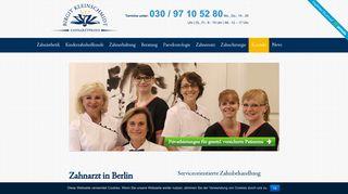 zahnarztpraxis-kleinschmidt.de