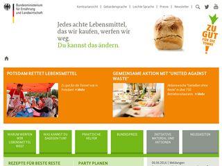 Preview of zugutfuerdietonne.de