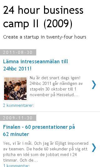 Mobile preview of 24hbc.com