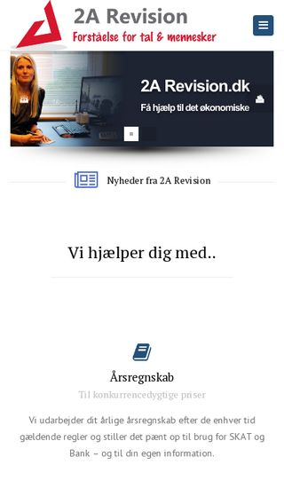 Mobile preview of 2arevision.dk