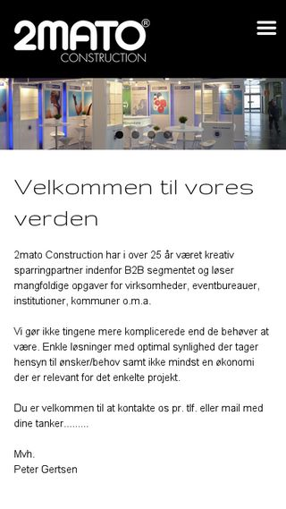 Mobile preview of 2mato.dk