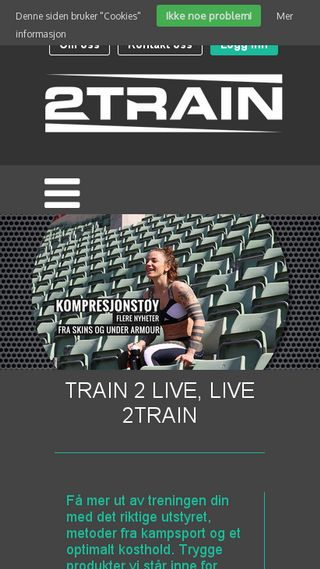 Mobile preview of 2train.no