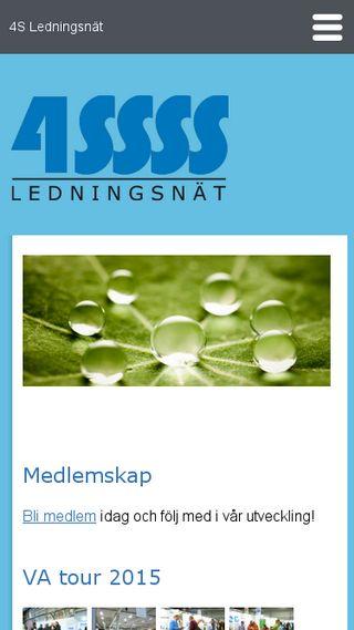 Mobile preview of 4sledningsnat.se