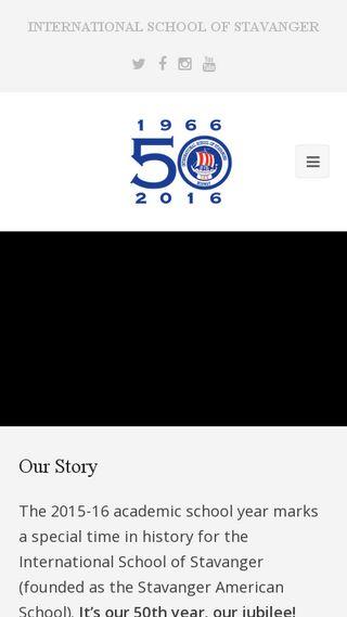 Mobile preview of 50.blog.isstavanger.no
