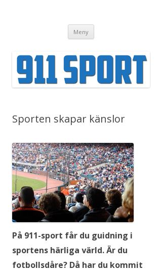 Mobile preview of 911sport.se