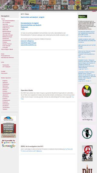 Mobile preview of 911video.de