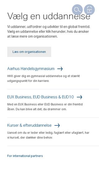 Mobile preview of aabc.dk