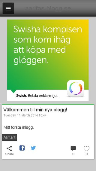 Mobile preview of aarifas.blogg.se