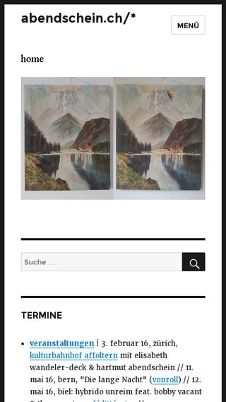Mobile preview of abendschein.ch