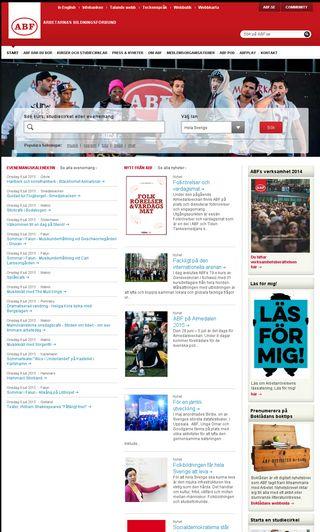 Mobile preview of abf.se