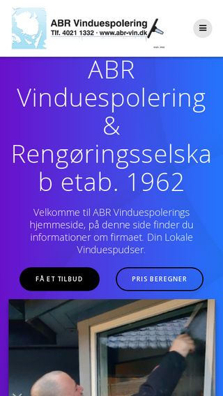 Mobile preview of abr-vin.dk