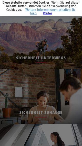 Mobile preview of abus.de