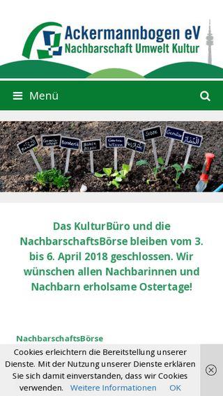 Mobile preview of chorbandeschwabing.de