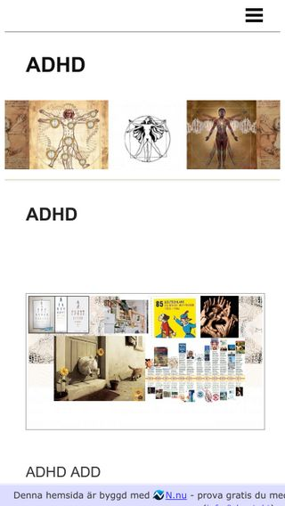 Mobile preview of adhd.n.nu