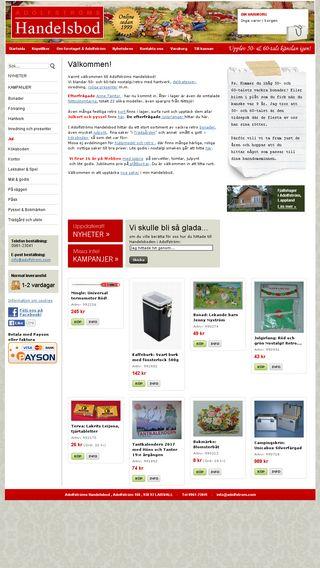Mobile preview of adolfstromshandelsbod.se