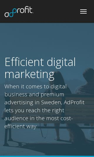 Mobile preview of adprofit.se