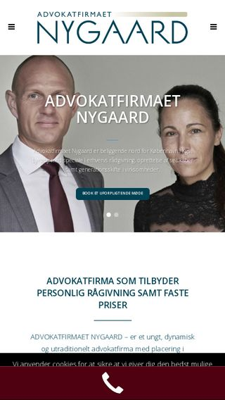 Mobile preview of adv-nygaard.dk