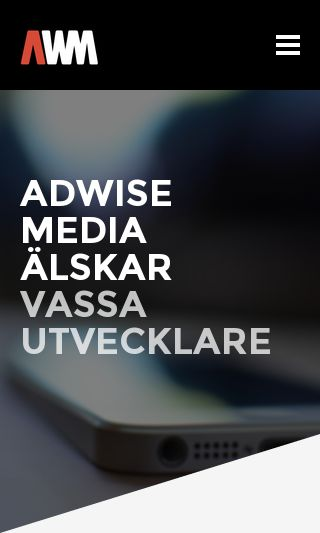 Mobile preview of adwisemedia.se