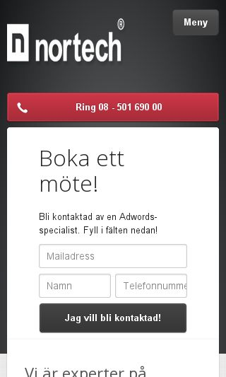 Mobile preview of adwordskonsult.se