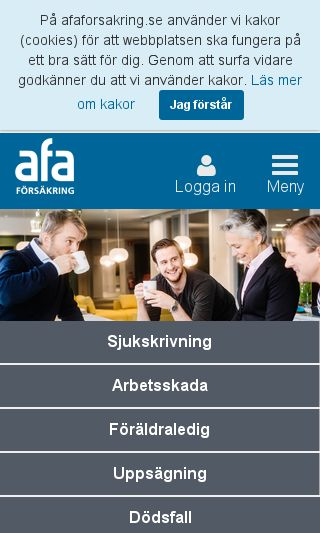 Mobile preview of afa.se