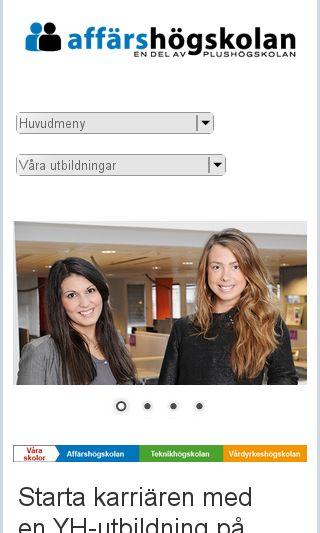 Mobile preview of affarshogskolan.se