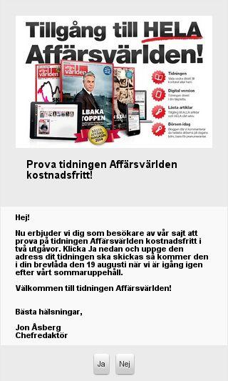 Mobile preview of afv.se