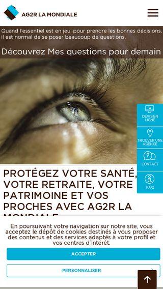 Mobile preview of ag2rlamondiale.fr
