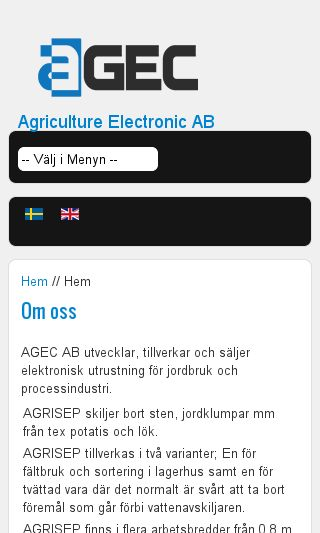Mobile preview of agec.se