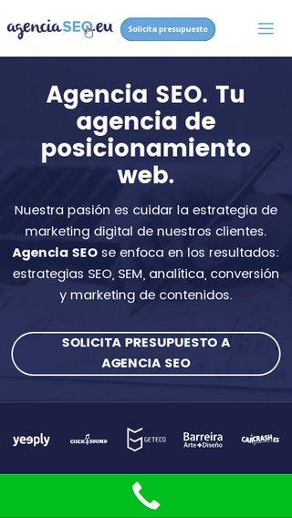 Mobile preview of agenciaseo.eu