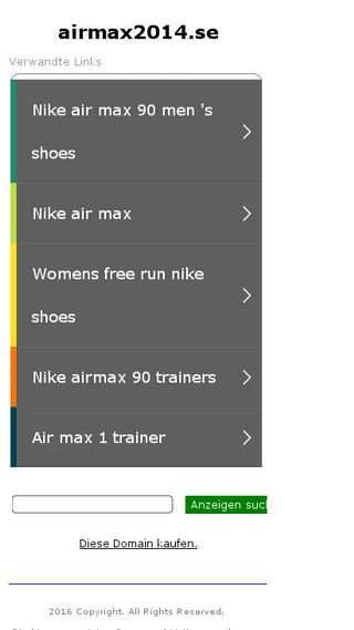 Mobile preview of airmax2014.se