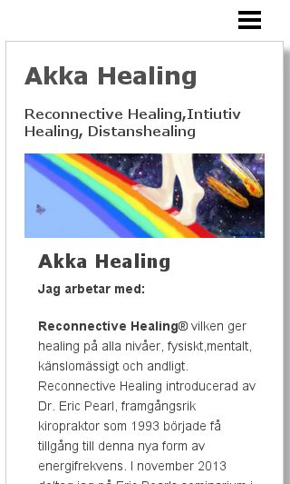 Mobile preview of akkahealing.se