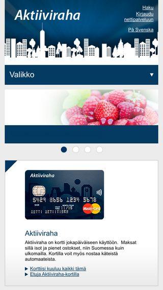 Mobile preview of aktiiviraha.fi