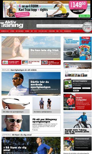 Mobile preview of aktivtraning.se