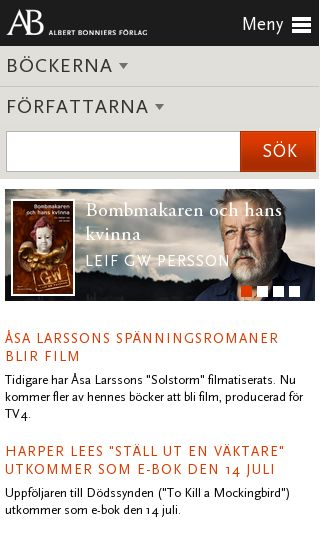 Mobile preview of albertbonniersforlag.se