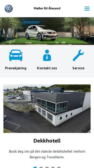 Mobile preview of alesund.volkswagen.no