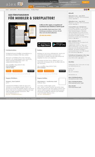 Mobile preview of alex.se