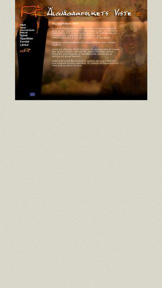 Mobile preview of algjagarfolket.se