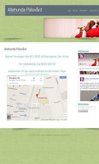 Mobile preview of allehunda.se
